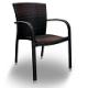 Αλουμινίου - WICKER καρέκλες εξ. χώρου