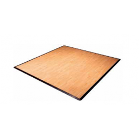 D Πλακάκι πίστας τετράγωνο,πολυπροπυλένιο,επιφάνεια βινυλίου-χρώμα ξύλου