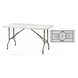 LONDON 153 Μακρόστενα πτυσσόμενα τραπέζια από HDPE