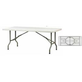 LONDON 183 Μακρόστενα πτυσσόμενα τραπέζια από HDPE