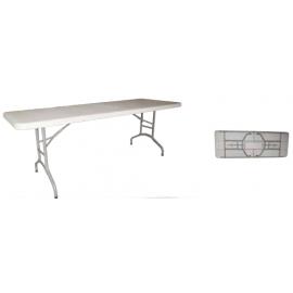LONDON 200 Μακρόστενα πτυσσόμενα τραπέζια από HDPE
