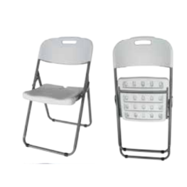 COSMOS Πτυσσόμενη καρέκλα με πλάτη και κάθισμα HDPE