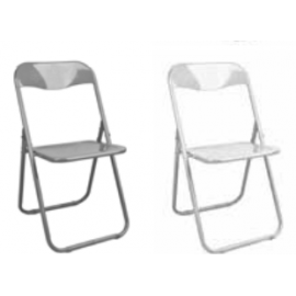 IRON Πτυσσόμενη μεταλλική καρέκλα