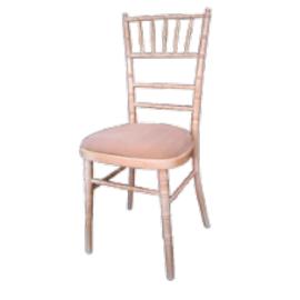 BALLROOM Στοιβαζόμενη καρέκλα τύπου Chiavari, ξύλινο σκελετό