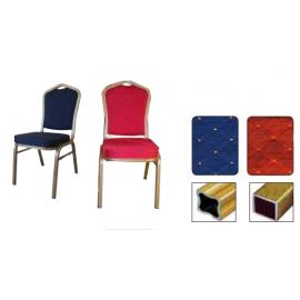 HILTON 4005 ALU Στοιβαζόμενες καρέκλες με σκελετό αλουμινίου