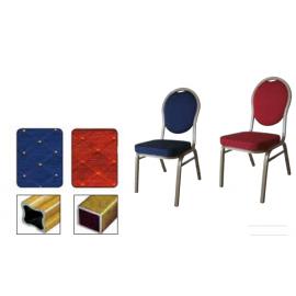 HILTON 4001 ALU Στοιβαζόμενες καρέκλες με σκελετό αλουμινίου