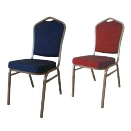 HILTON 4005 STEEL Στοιβαζόμενες καρέκλες με μεταλλικό σκελετό