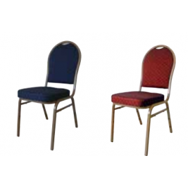 HILTON 4002 STEEL Στοιβαζόμενες καρέκλες με μεταλλικό σκελετό
