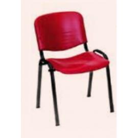 LEDA ΒΑΦΗ Στοιβαζόμενο κάθισμα σε pvc