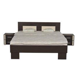 1128753 Διπλό Κρεβάτι BRKT 160 2NO2F Tip 2 W K WENGE